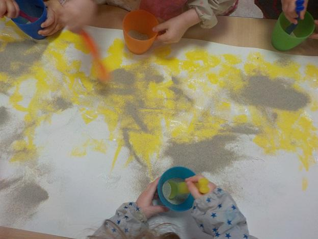 Peinture au sel