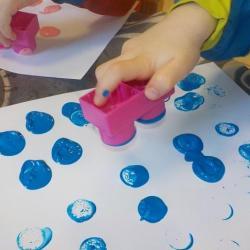 Peinture légo