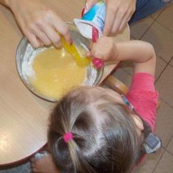 Préparation gâteau
