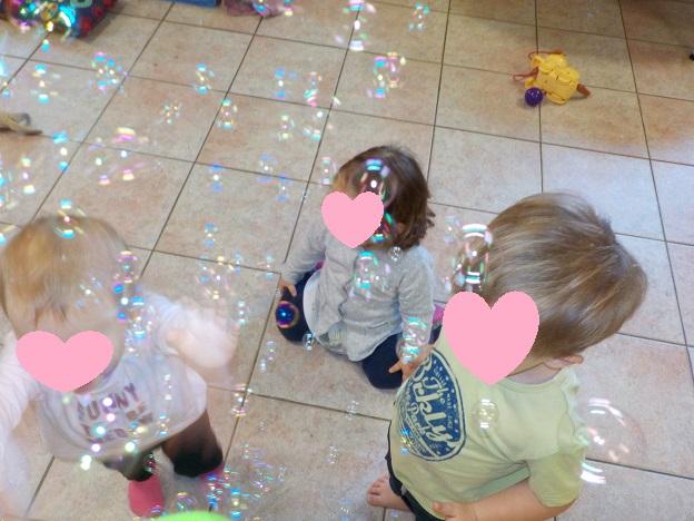Attaque de bulles