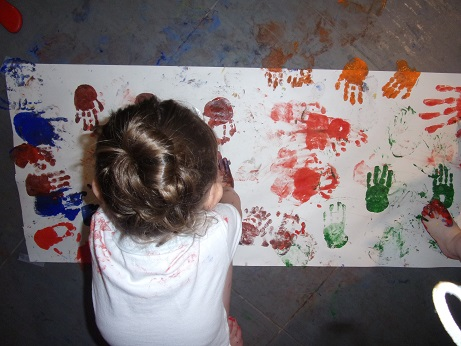Pataugeons dans la peinture