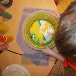 Peinture saladier