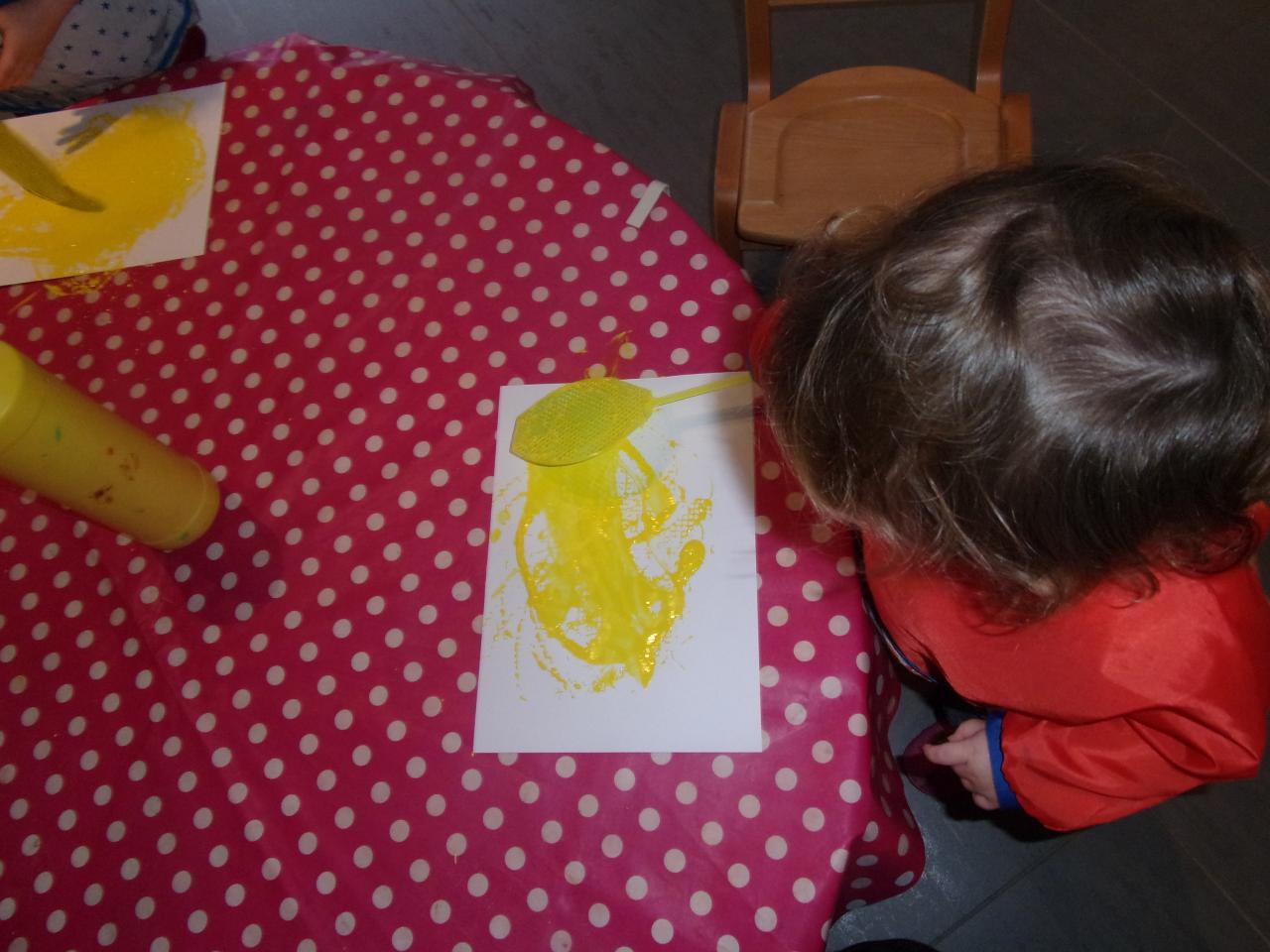 Peinture tapette