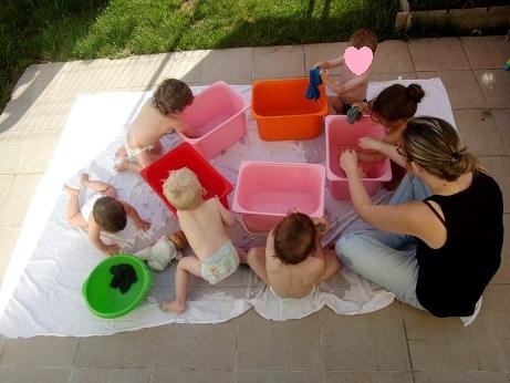 Le bain des poupées