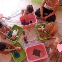 Bain des poupées