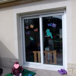 Déco sur vitres